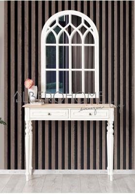 Reva Eskitme Beyaz Aynalı Dresuar Takım